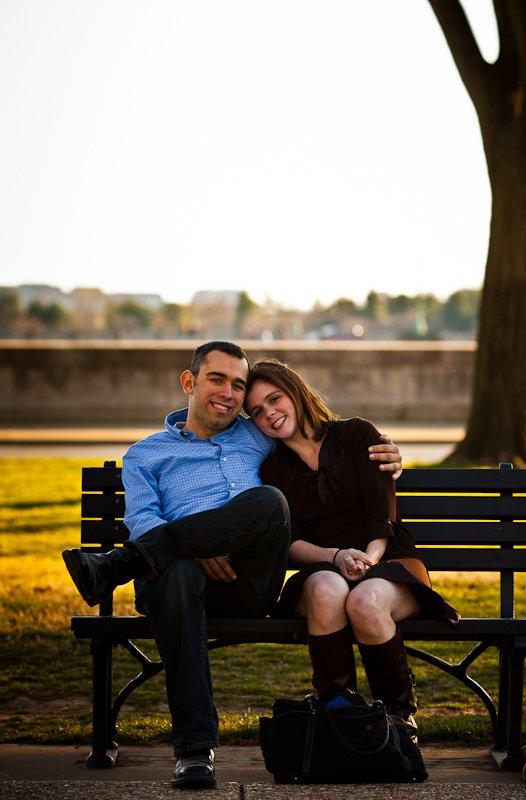 Lauren Jason - Washington DC Wedding Engagement Session - Rahul Rana Photography