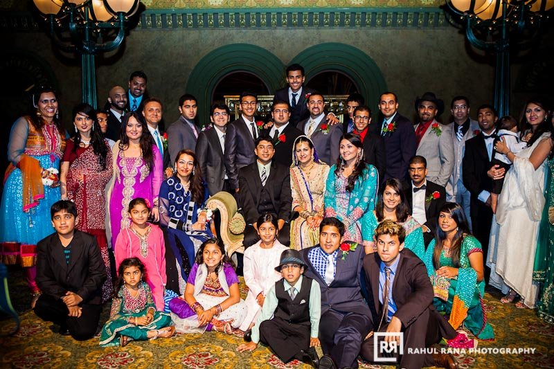 Marvi Adnan - St Louis Union Station Marriott walima - Rahul Rana Photography