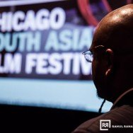 Chicago South Asian Film Festival 2012 Avinash Kumar Singh waiting for the world premiere of Listen Amaya