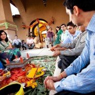 San Diego Wedding Photography graha shanti puja ceremony