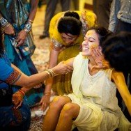 San Diego Wedding Photography Haldi/Turmeric Paste Pithi