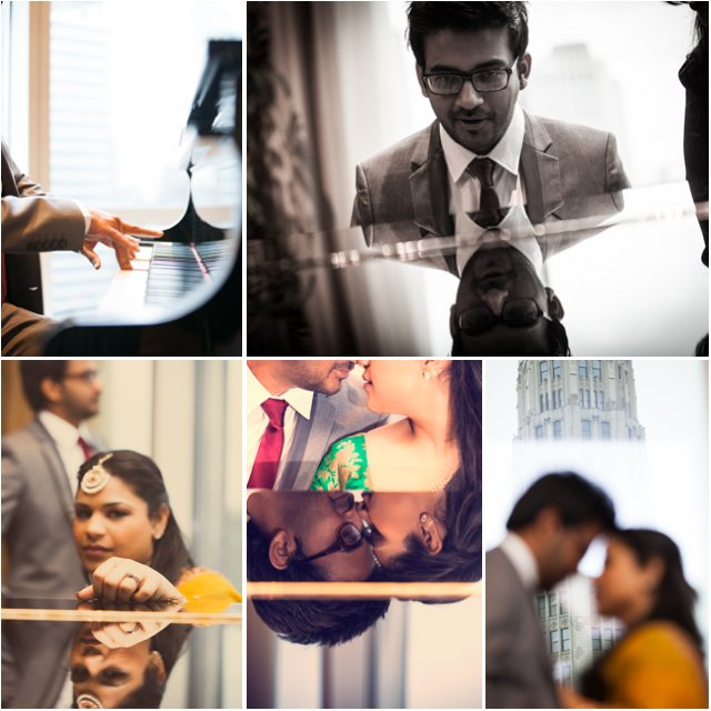 Trump Chicago Engagement Session - Indian Wedding Photography - Rahul Rana Photography