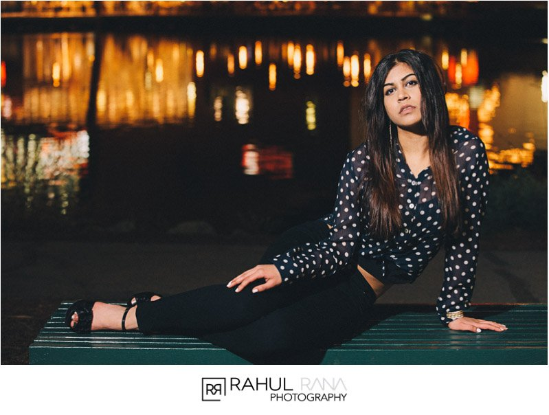 Ankita - Chicago High School Senior Fashion Portraits - Rahul Rana Photography