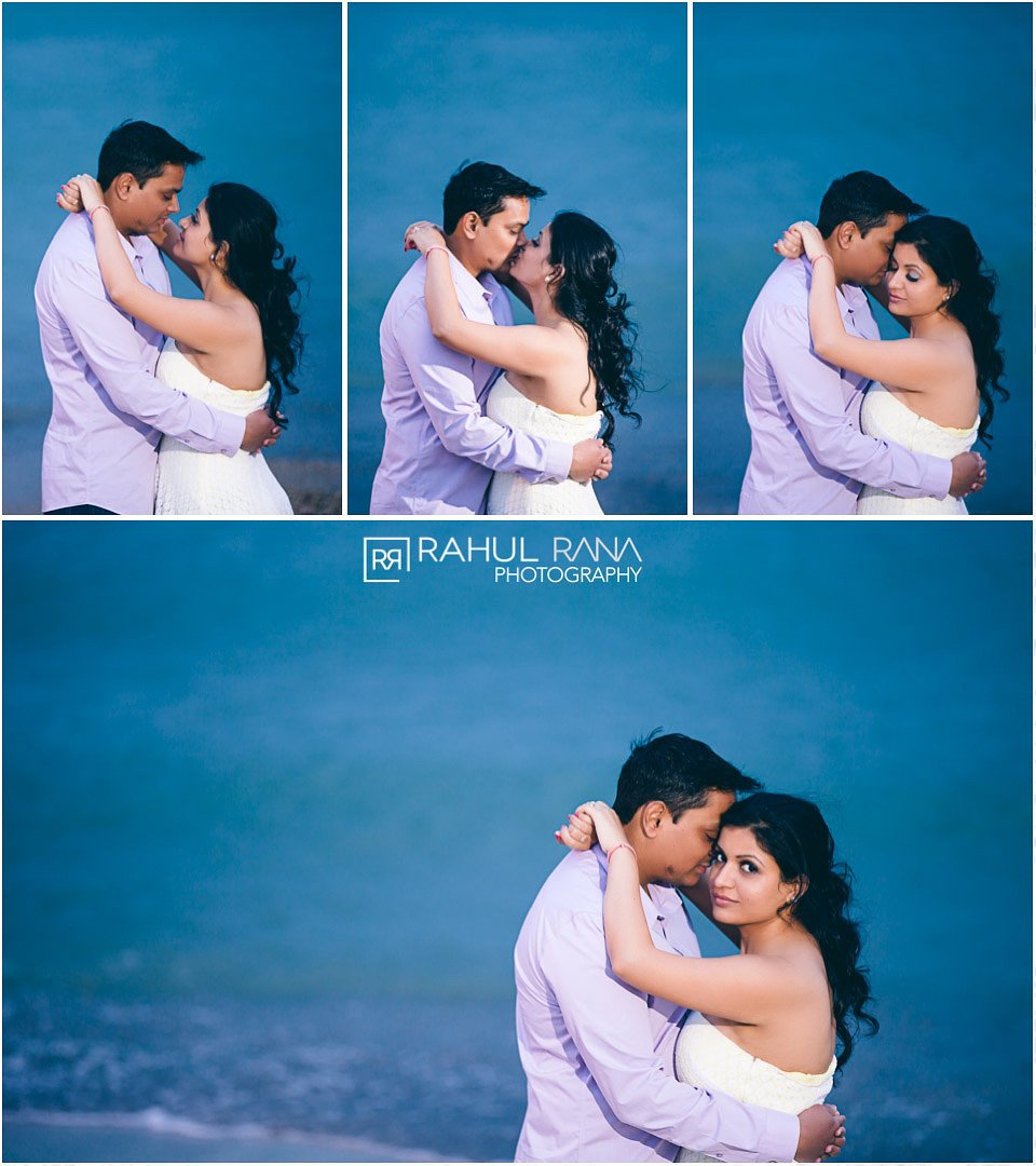Dipali Shashin - Beach Lake Michigan Engagement - Rahul Rana Photography