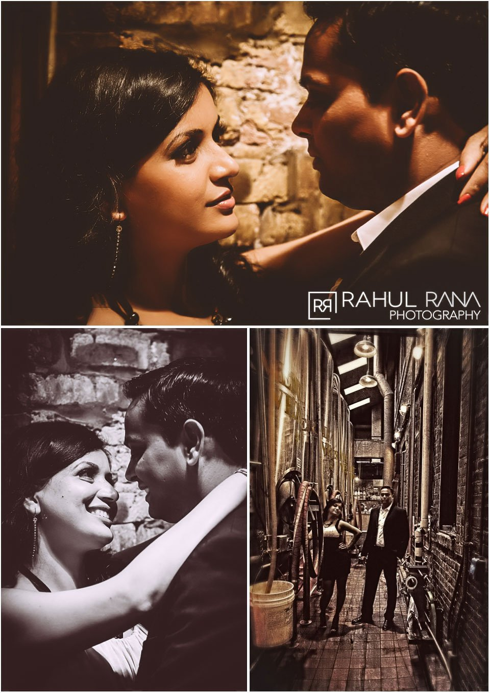 Dipali Shashin - Chicago Brewery Engagement Session - Rahul Rana Photography