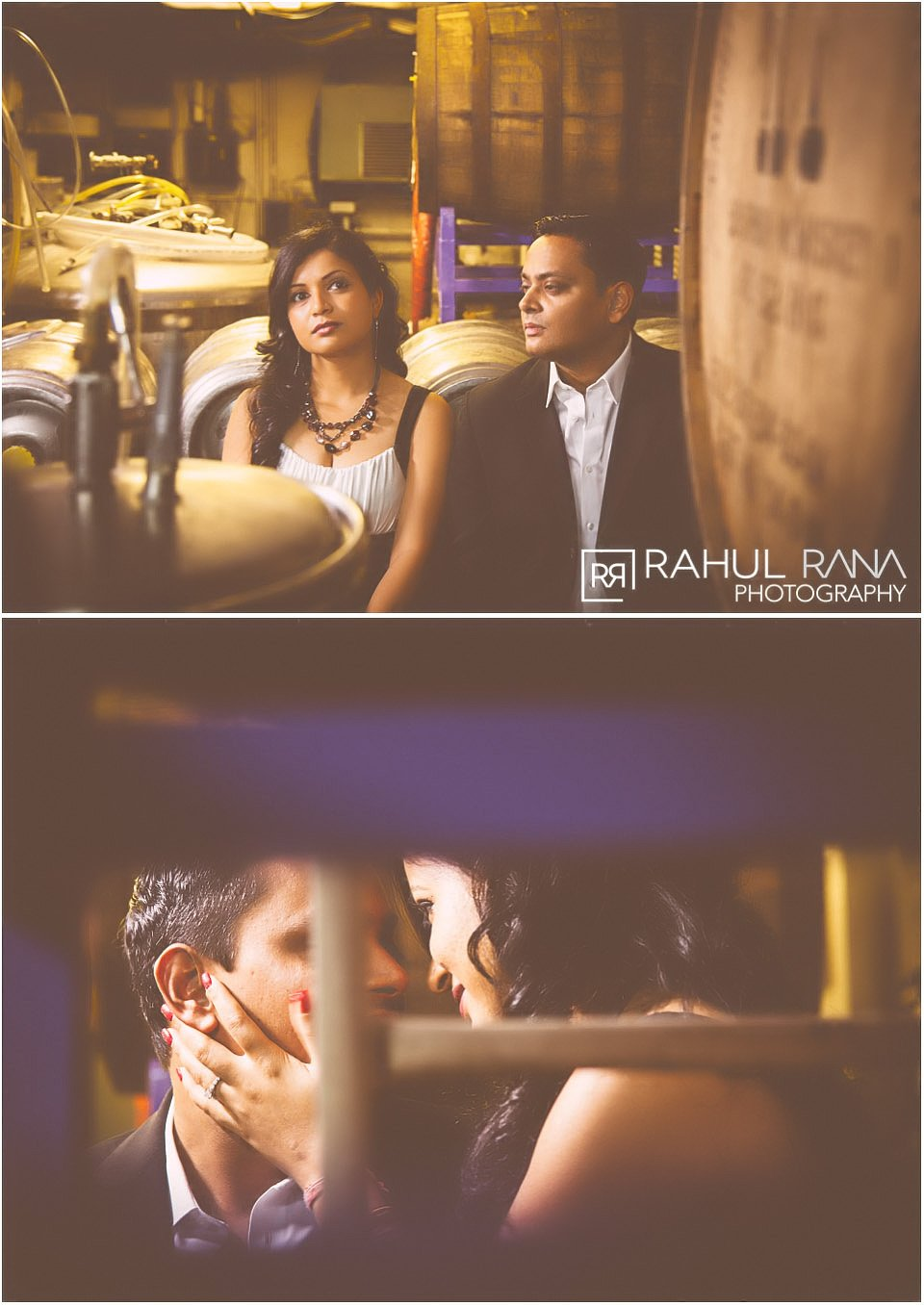 Dipali Shashin - Chicago Rock Bottom Brewery Engagement Session - Rahul Rana Photography