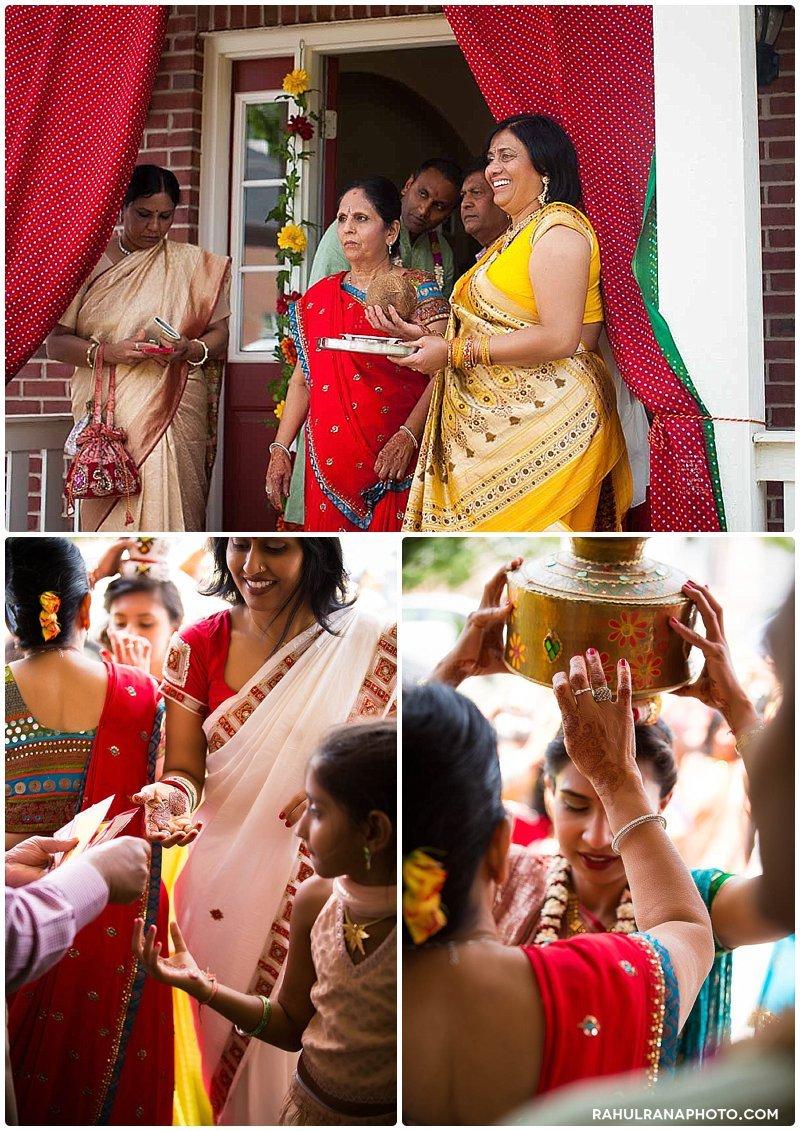 Roopal Aashit - Chicago Illinois Grah Shanti Pithi Pooja - Rahul Rana Photography