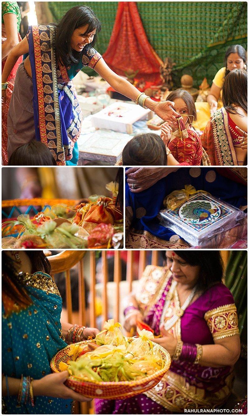 Roopal Aashit - Bartlett Illinois Grah Shanti Pithi Pooja - Rahul Rana Photography