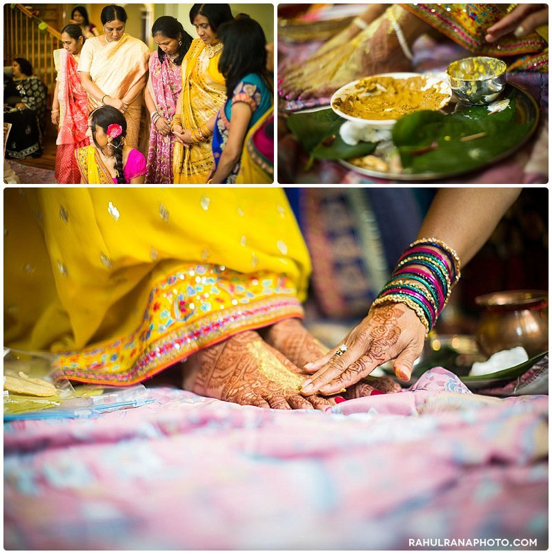 Roopal Aashit - Gujrati Puja Ceremony - Rahul Rana Photography