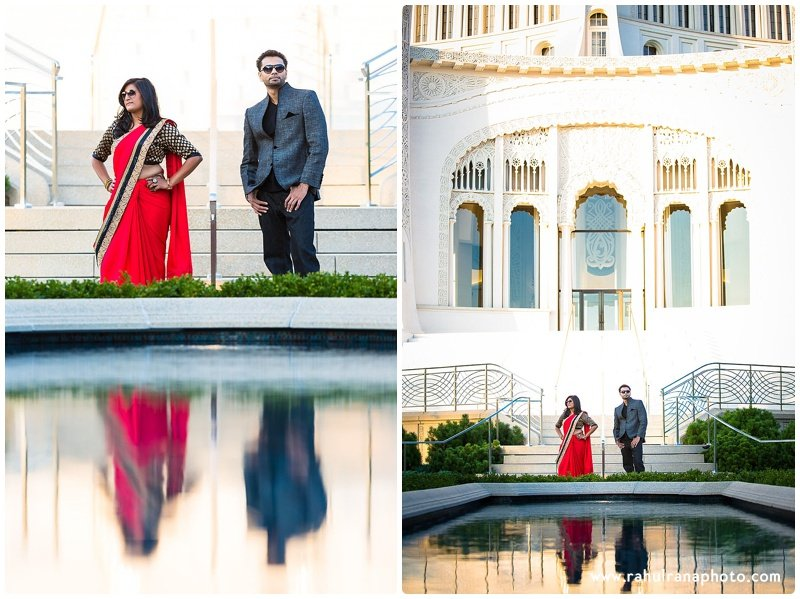 Neha Keyur - Baha'i Temple Wilmette engagement session - Rahul Rana Photography
