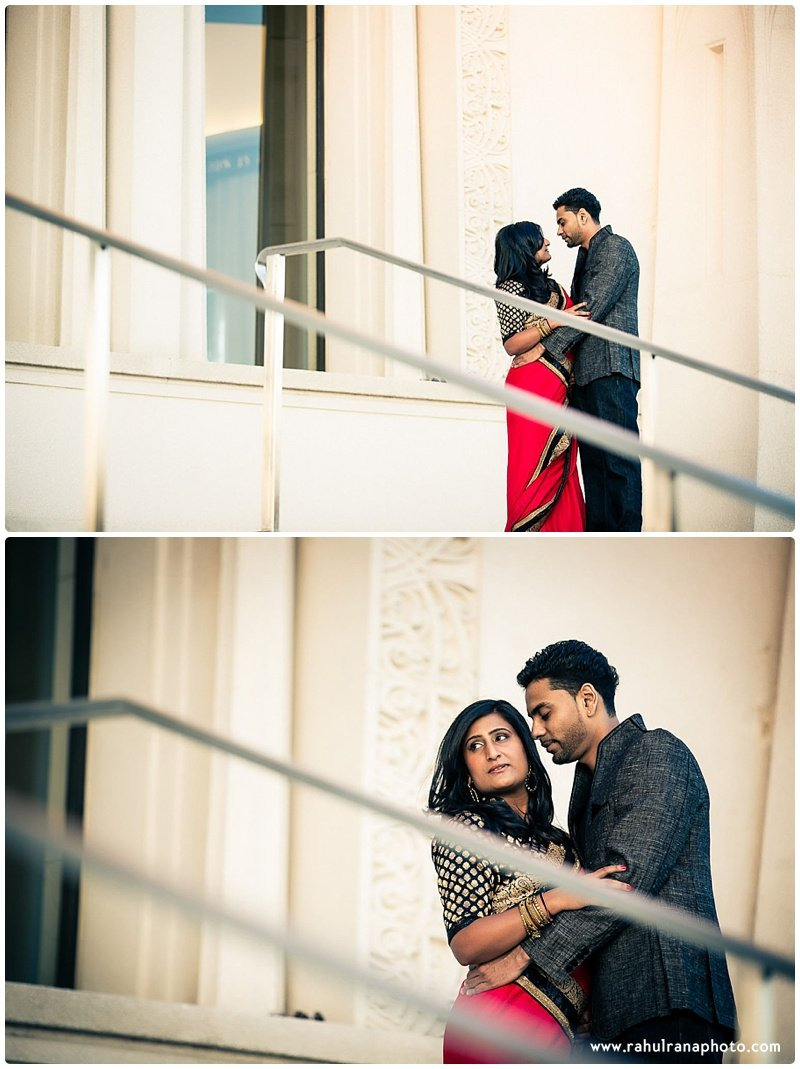 Neha Keyur - Bahai Temple Wilmette engagement session - Rahul Rana Photography