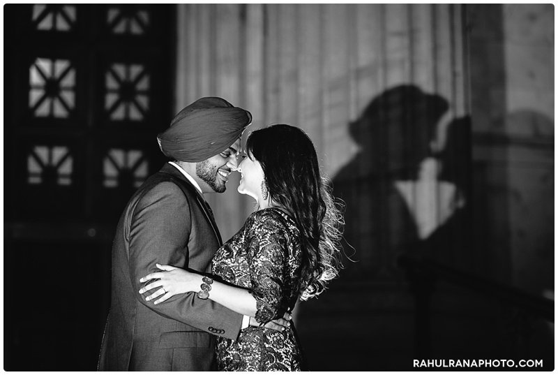 Perneet Jaspreet - Field Musuem Chicago engagement session - Rahul Rana Photography