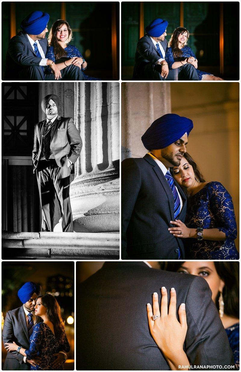 Perneet Jaspreet - Museum campus engagement session - Rahul Rana Photography