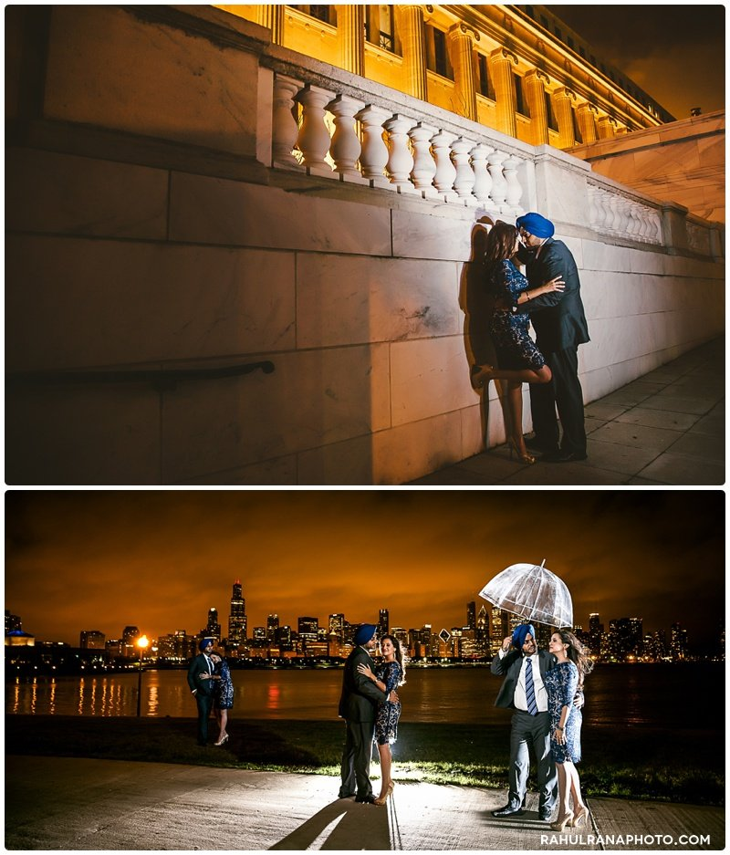 Perneet Jaspreet - Chicago engagement session - Rahul Rana Photography