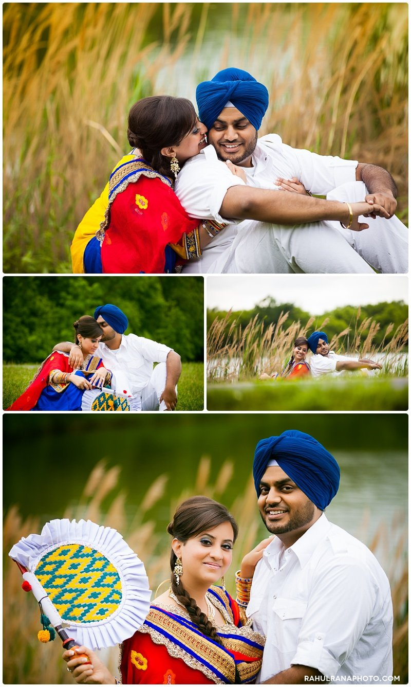 Perneet Jaspreet - fan Punjabi Sikh e-session - Rahul Rana Photography