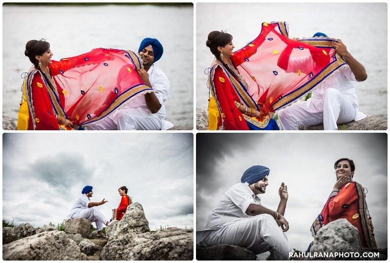 Perneet Jaspreet - Chicago west suburbs lake - Rahul Rana Photography