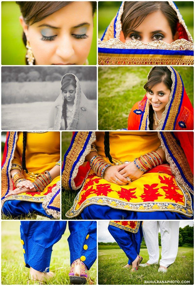 Perneet Jaspreet - Punjabi pind esession - Rahul Rana Photography
