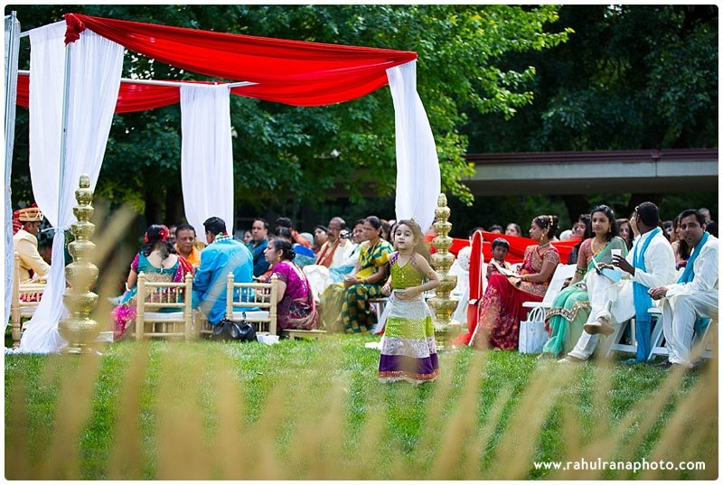 Pooja-Krishna-Elk-Grove-Village-Indian-Wedding Mandap-Rahul-Rana-Photography