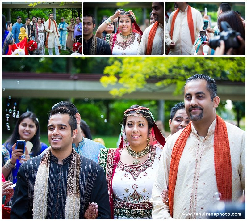 Pooja-Krishna-Elk-Grove-Village-Indian-Wedding Bride Enter-Rahul-Rana-Photography