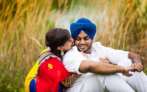 Preeti Jassi - Chicago Engagement - Rahul Rana Photography - feat