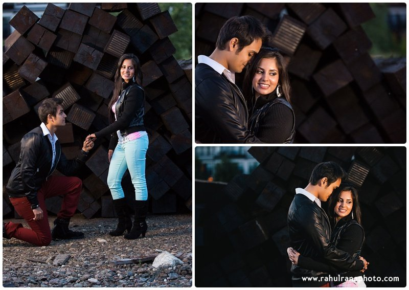 Rina Sunny - propose engagement session - Rahul Rana Photography