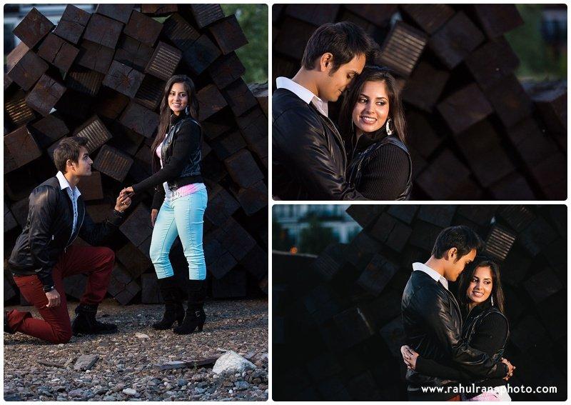 Rina Sunny - propose engagement session - Rahul Rana Photography