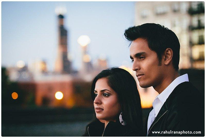 Rina Sunny - Chicago Willis tower engagement session - Rahul Rana Photography