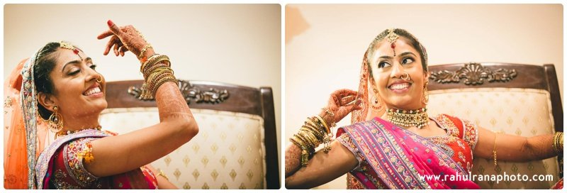 Roopal Aashit - Ashyana Banquets Indian Wedding - Rahul Rana Photography