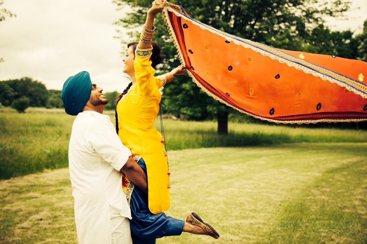 Perneet Jaspreet - Rahul Rana Photography - Schaumburg Pre-Wedding - Engagement Session
