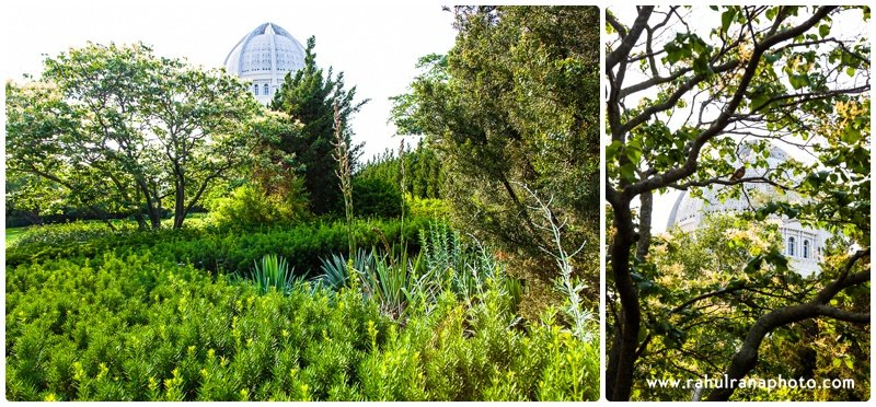 Bahai Temple Flower Gardens - Evanston Illinois - Rahul Rana Photography