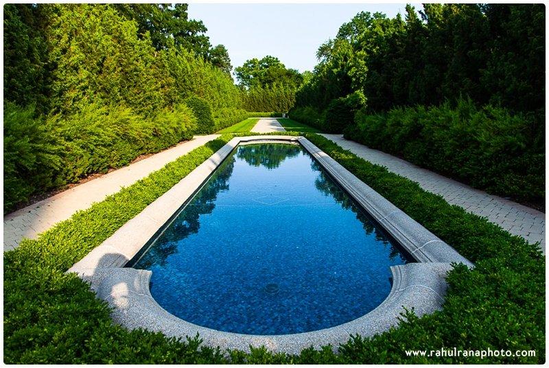 Baha'i Temple Flower Gardens - Evanston Illinois - Rahul Rana Photography