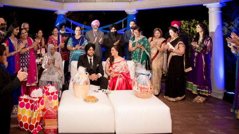 Perneet Jaspreet - Mississippi Ring Ceremony - Indian Punjabi Engagement - Rahul Rana Photography