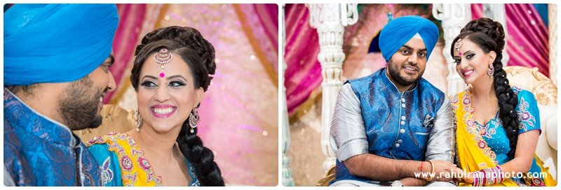 Perneet Jaspreet - Bride meets Groom - Royal Albert's Palace - Ford New Jersey Wedding - Rahul Rana Photo