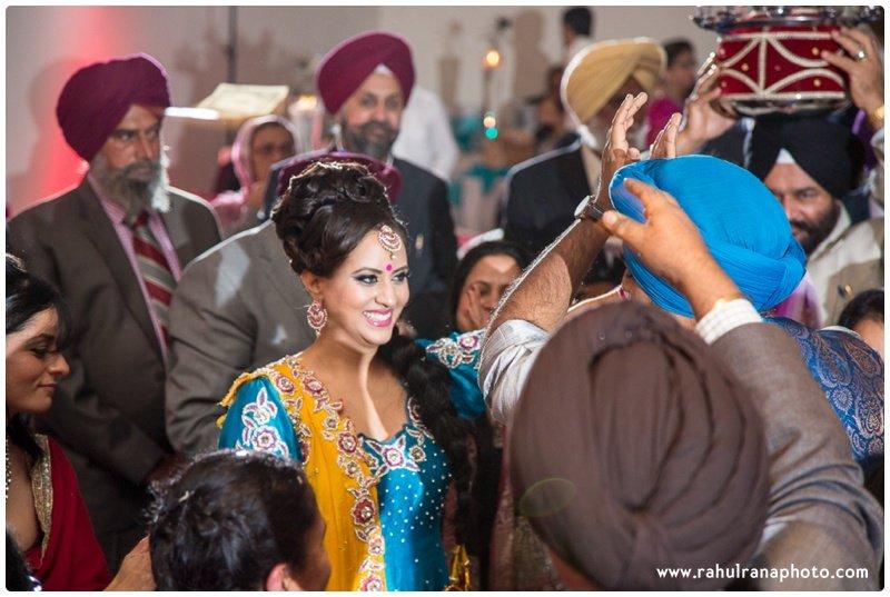 Perneet Jaspreet - Punjabi Jago - Royal Albert's Palace - Ford New Jersey Wedding - Rahul Rana Photo