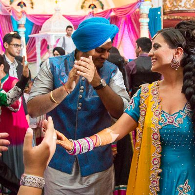 Perneet Jaspreet - Punjabi Jago - King Georges Post Ford New Jersey Indian Wedding - Photographer Rahul Rana - feat