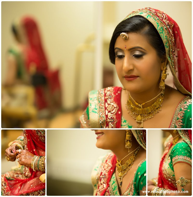 Neha Keyur - Gujarati Bride Elmhurst Illinois Wedding - Waterford Banquets - Rahul Rana Photo