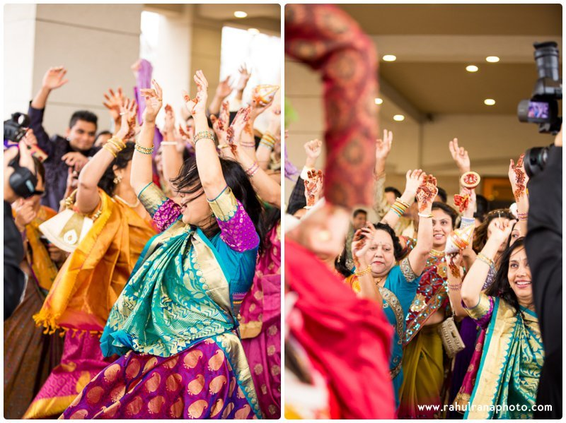 Neha Keyur - Baraat Elmhurst Illinois Wedding - Waterford Banquets - Rahul Rana Photo