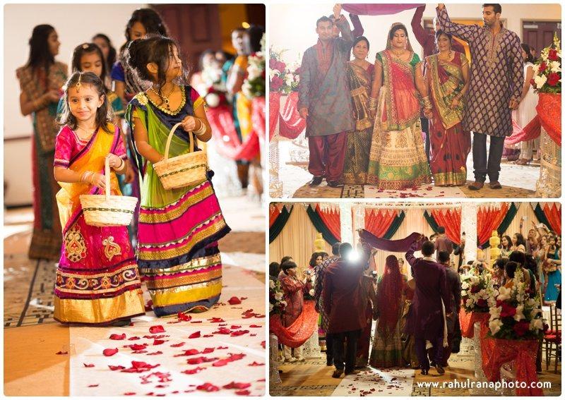 Neha Keyur - Entrance Elmhurst Illinois Wedding - Waterford Banquets - Rahul Rana Photo
