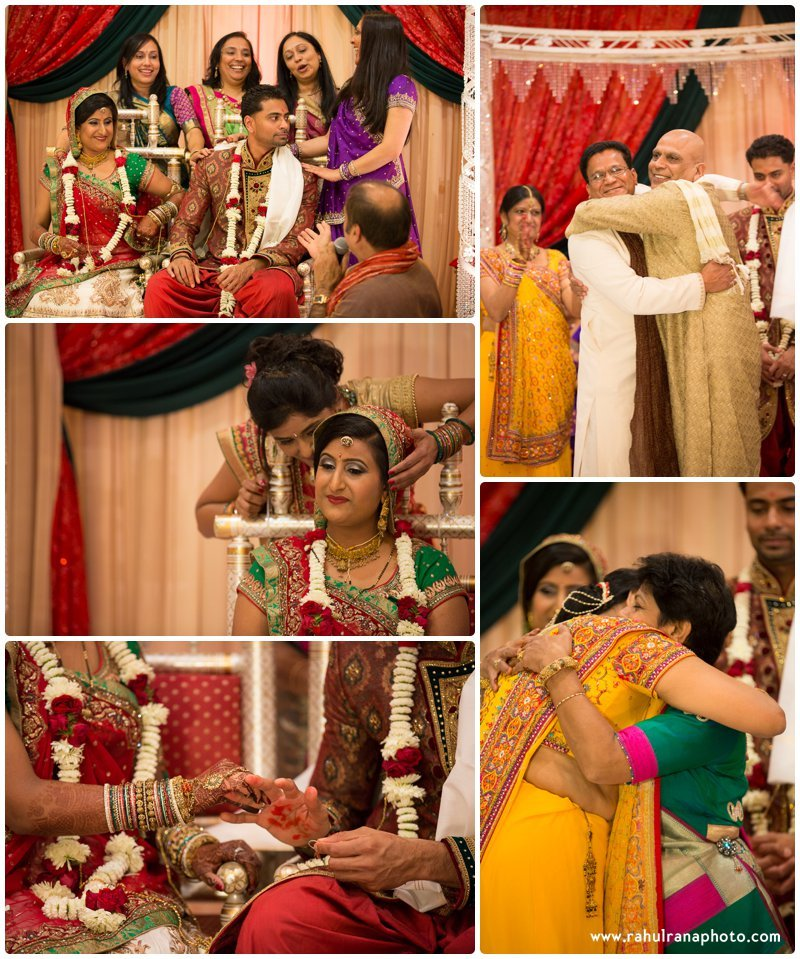 Neha Keyur - Shaadi Ceremony Elmhurst Illinois Wedding - Waterford Banquets - Rahul Rana Photo