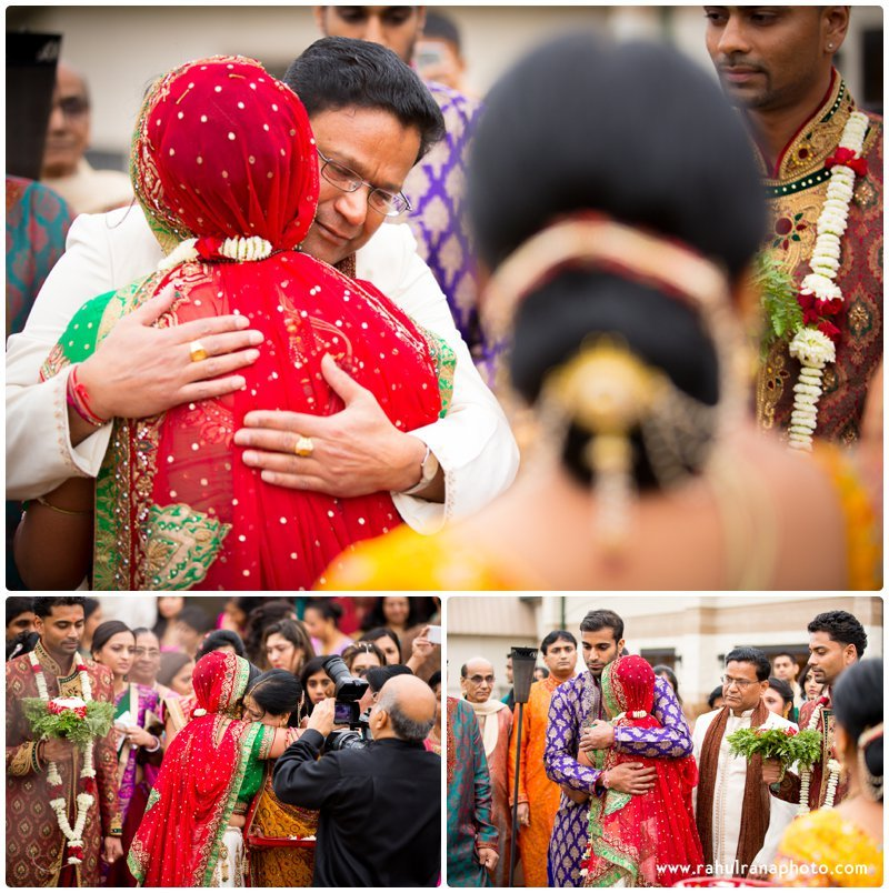 Neha Keyur - Vidaai Elmhurst Illinois Wedding - Waterford Banquets - Rahul Rana Photo