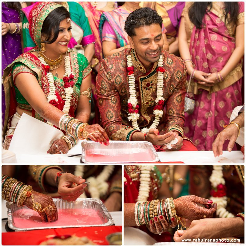 Neha Keyur - Ring Games Elmhurst Illinois Wedding - Waterford Banquets - Rahul Rana Photo