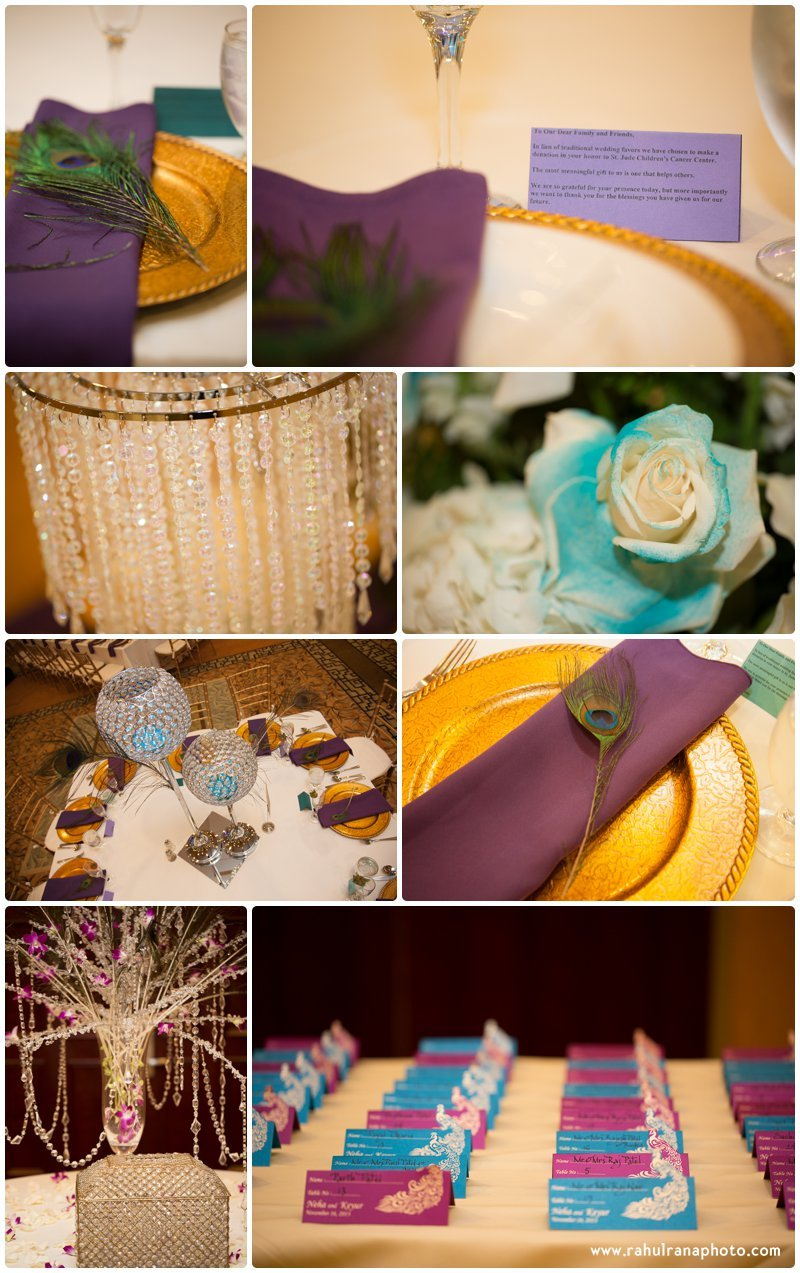 Neha Keyur - Reception Decoration Elmhurst Illinois - Waterford Banquets - Rahul Rana Photo