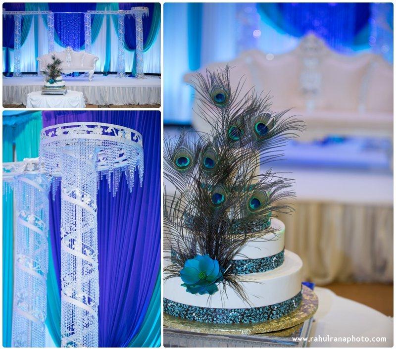 Neha Keyur - Reception Venue Elmhurst Illinois - Waterford Banquets - Rahul Rana Photo