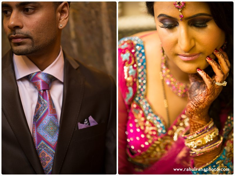 Neha Keyur - Reception Bride Groom Elmhurst Illinois - Waterford Banquets - Rahul Rana Photo