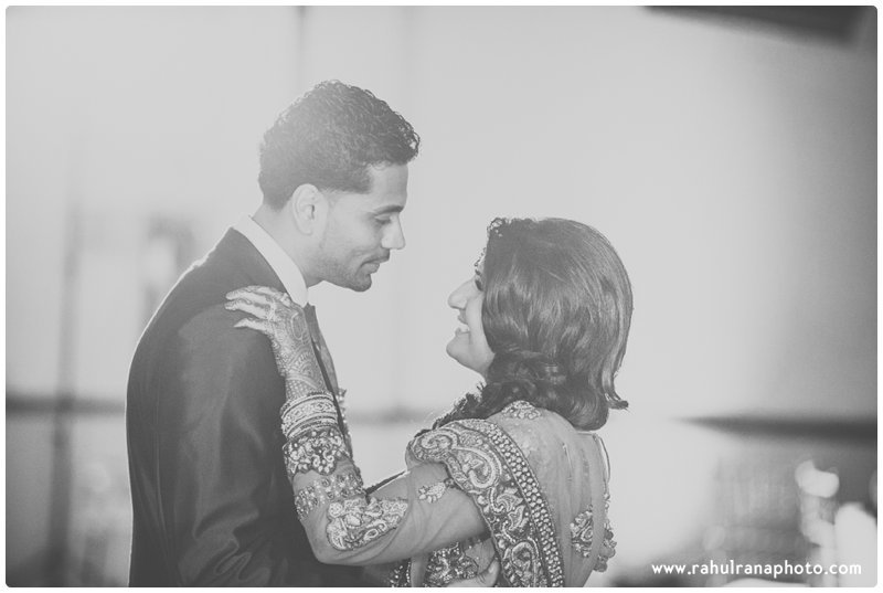 Neha Keyur - Reception First Dance Chicago - Waterford Banquets - Rahul Rana Photo