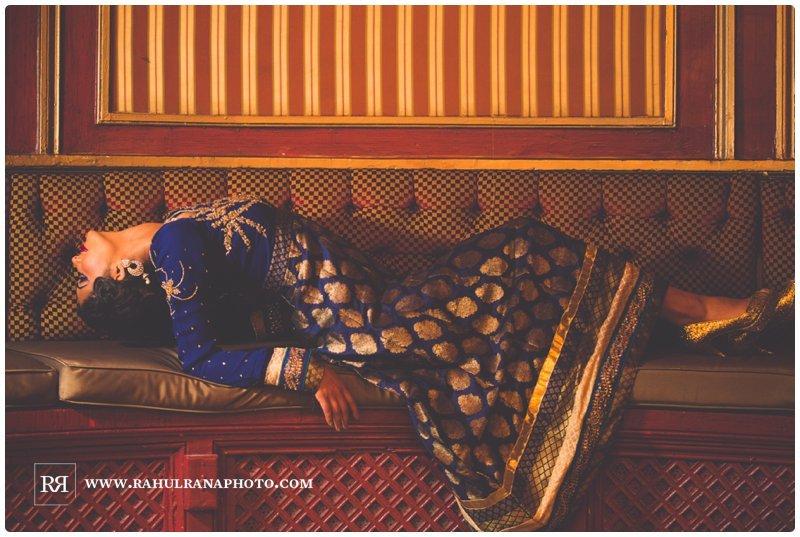 Palmer House Hilton - Chicago Indian Bridal - Rahul Rana Photography