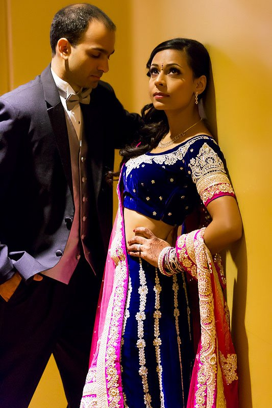 Hetal Mihir - Rolling Meadows Club - Wedding Reception - Rahul Rana Photography