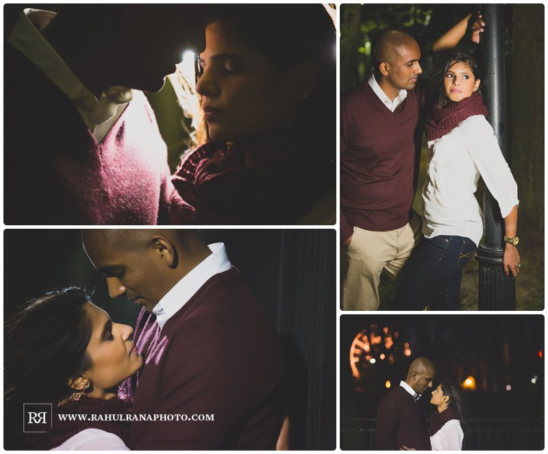 Pinkie Hardik - Chicago Park - Fall Engagement Session - Rahul Rana Photography