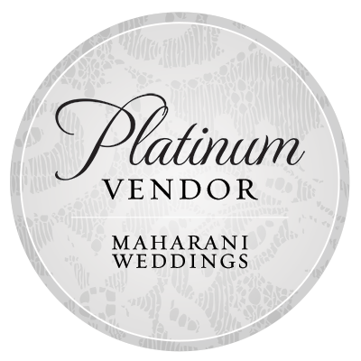 Featured Platinum Vendor, Maharani Weddings