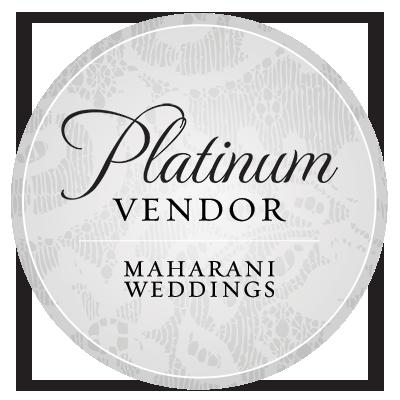 Featured Platinum Vendor, Maharani Weddings